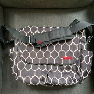 NEW Skip Hop Baby Duo Messenger Diaper Bag NWT